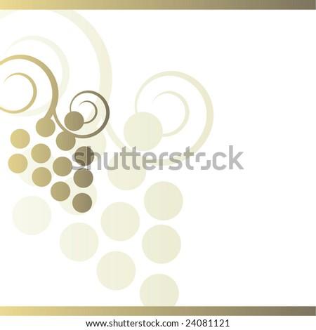 Wine background - stock photo