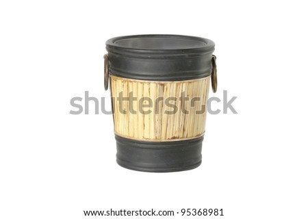wine bucket - stock photo