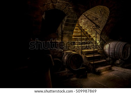 Dark Basement Stock Images Royalty Free Images Vectors