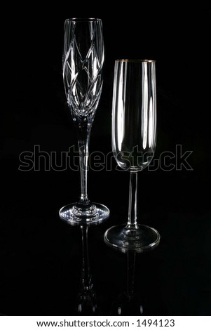 Wine Champagne Flutes Glasses