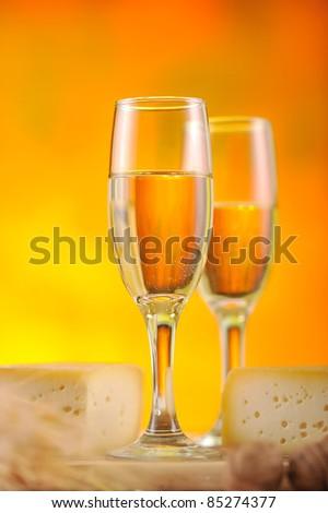 Wine composition 4 - stock photo