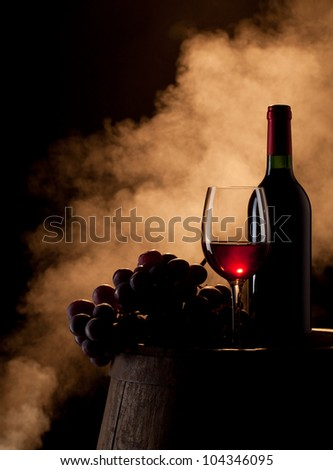 Wine concept - stock photo