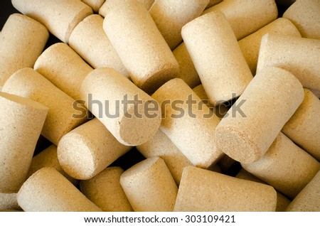wine cork abstract pattern background space for text