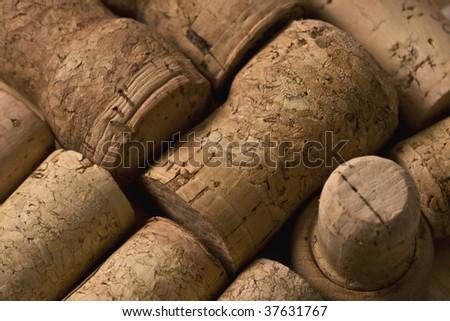 wine corks - stock photo
