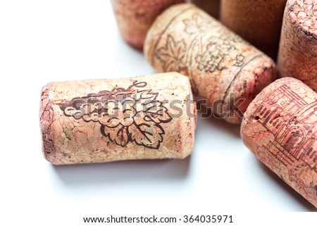 Wine corks collection