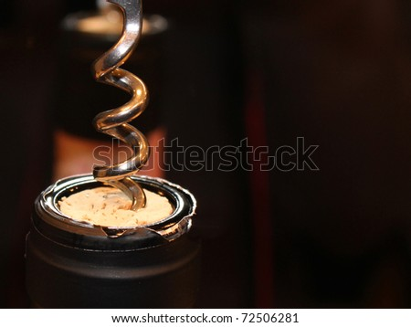 wine degustation - stock photo