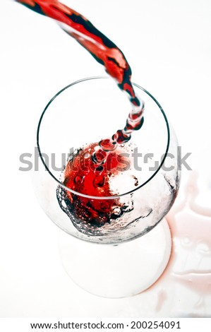 wine elegance  - stock photo