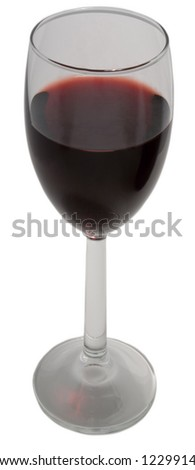 Wine glass - high resolution - stock photo