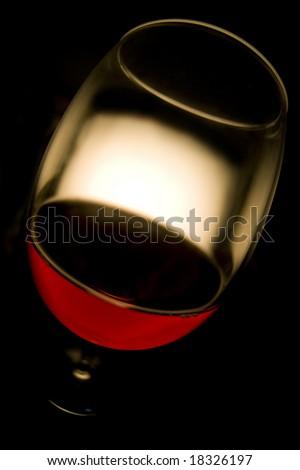 Red wine goblet stock photo 14372947 shutterstock for Fish eye wine