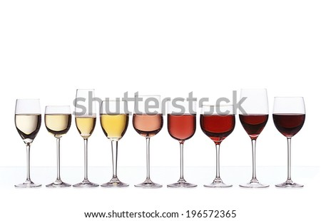 Wine gradient - stock photo