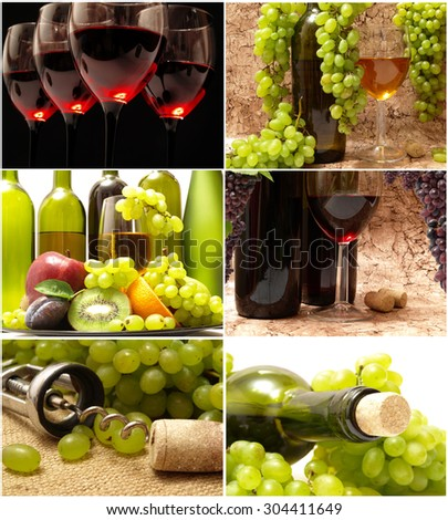 Wine grape - stock photo