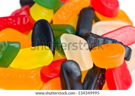 Wine gums - stock photo