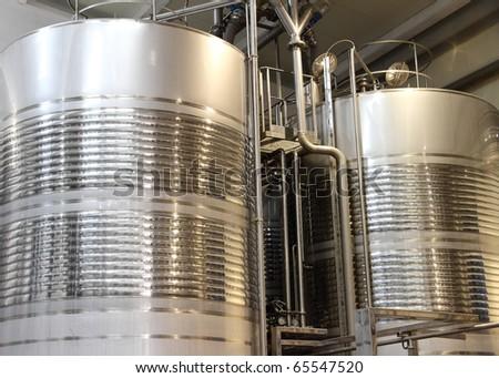 Wine Making Equipment - stock photo