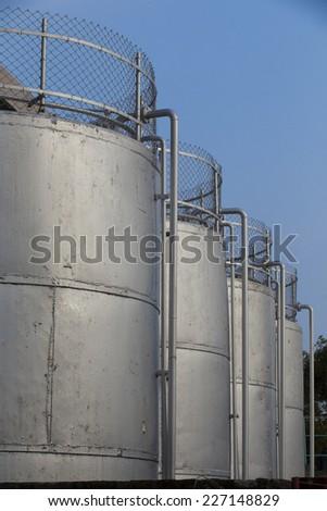 Wine tank - stock photo