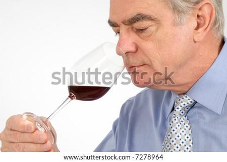Wine Taster - stock photo