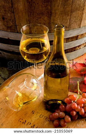 Winery Still Life - stock photo