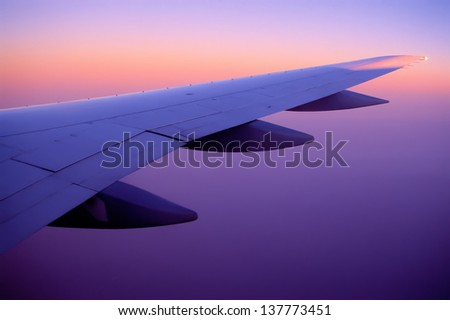 wing - stock photo