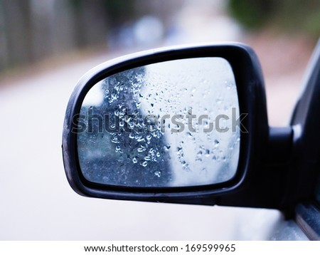 Wing Mirror of a Car