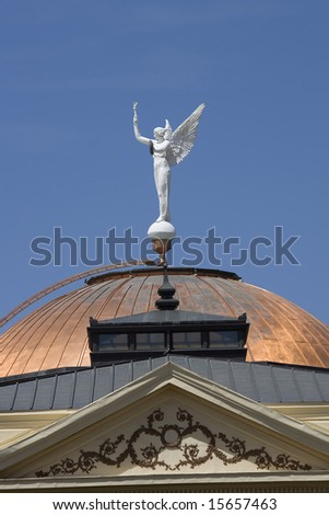 Winged Victory. Phoenix - Arizona State Capitol Building - stock photo