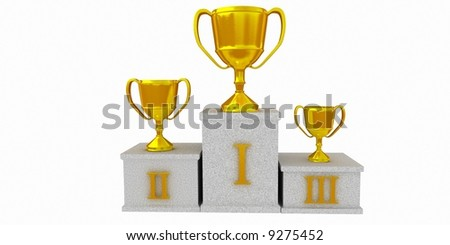 Winner 1 - stock photo
