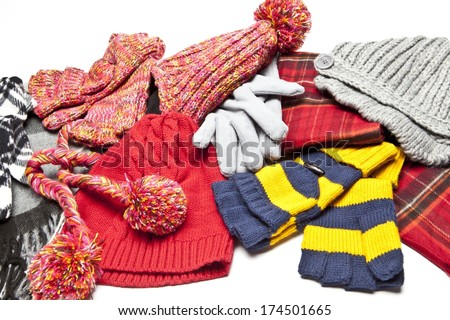 Winter Accessories - stock photo