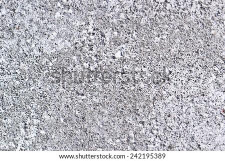 Winter asphalt covered with salt texture. - stock photo