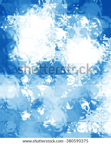 Winter background - stock photo