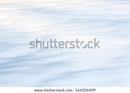 Winter background of fresh white snow texture  - stock photo