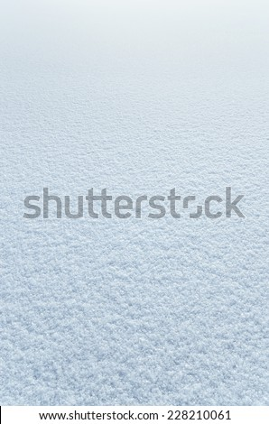 Winter background of snow - stock photo