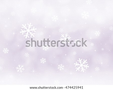 Winter - Background Scene
