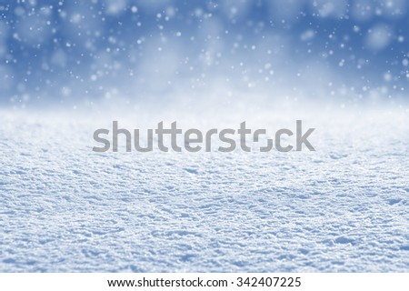Winter christmas background bright brilliant snow
