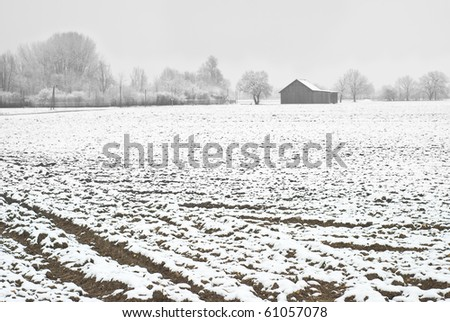 Winter Farming In Germany as Symbol of European Agricultural