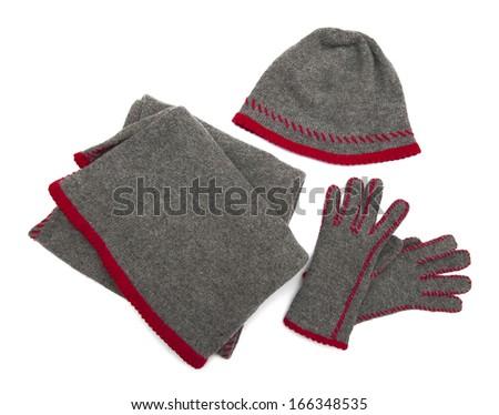 Winter fashion - stock photo