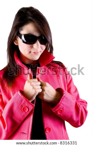 Winter fashion - stock photo