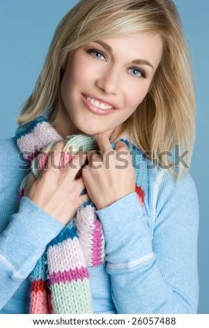 Winter Fashion Girl - stock photo