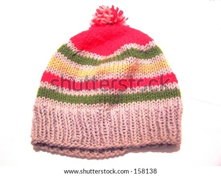 winter hat - stock photo