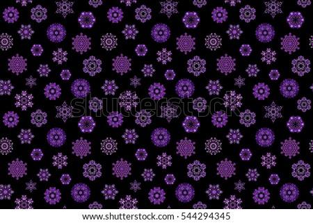 Peachy Purple Snowflake Background Stock Photos Royalty Free Images Easy Diy Christmas Decorations Tissureus
