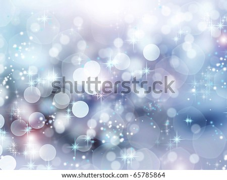 Winter Holidays Abstract Background - stock photo
