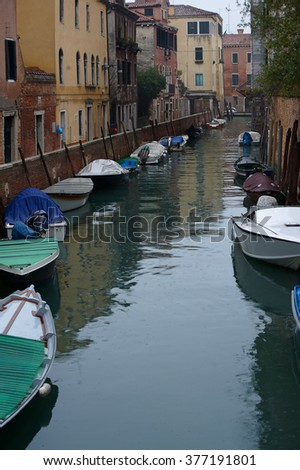 Winter in Venice, Italy