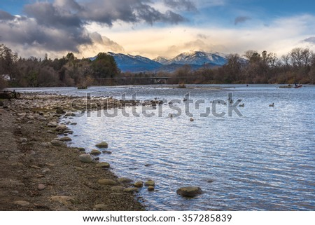 Winter Landsacape in Northen California