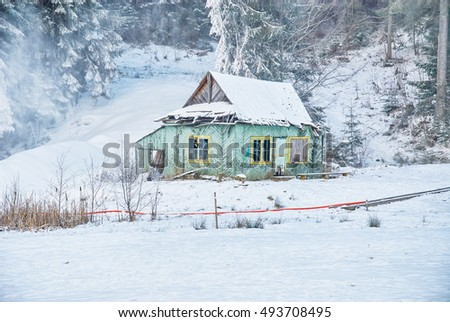 Lviv ukraine november 10 2016 old stock photo 524335600 shutterstock - The beauty of an abandoned house the art behind the crisis ...