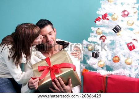 winter love - stock photo