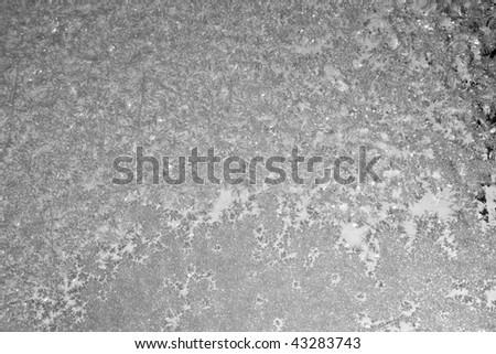 winter patterns - stock photo