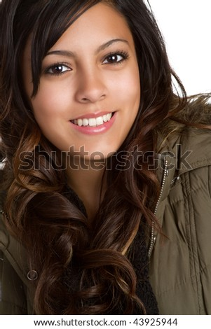 Winter Teen - stock photo