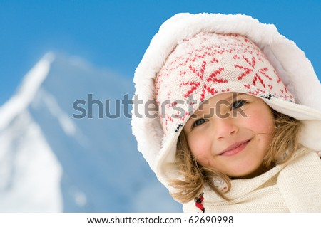 Winter vacation - stock photo