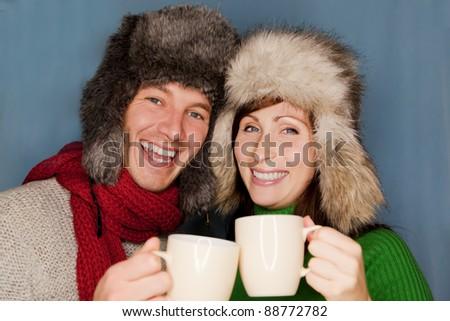 wintertime - stock photo