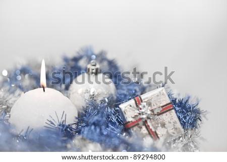Wintry Decorations - stock photo