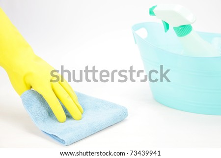 wipe cleaning