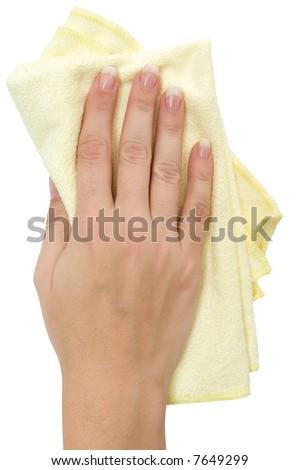Wiping - stock photo