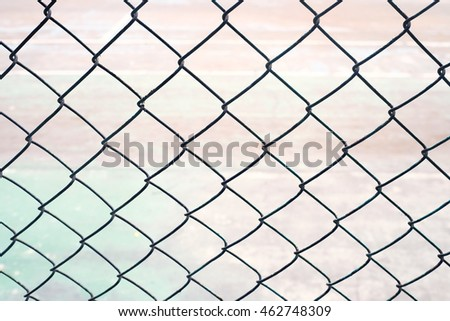wire chain link fence background